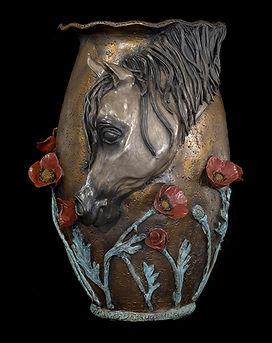 Arabian Horse sculpture
