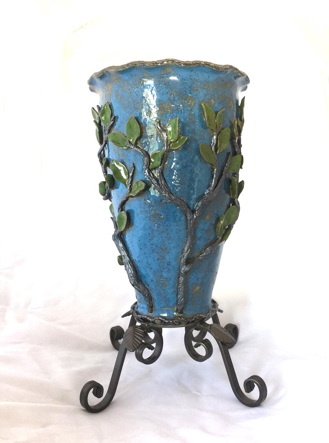 Trees vase back