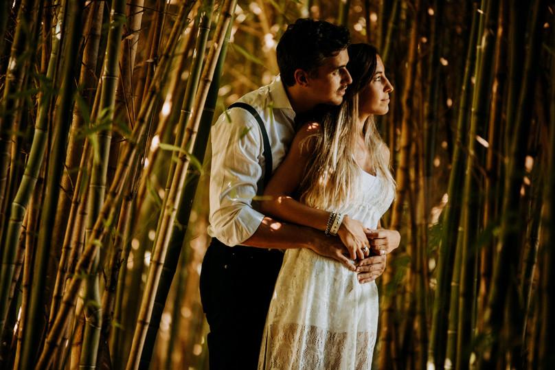 Romantic pre-wedding
