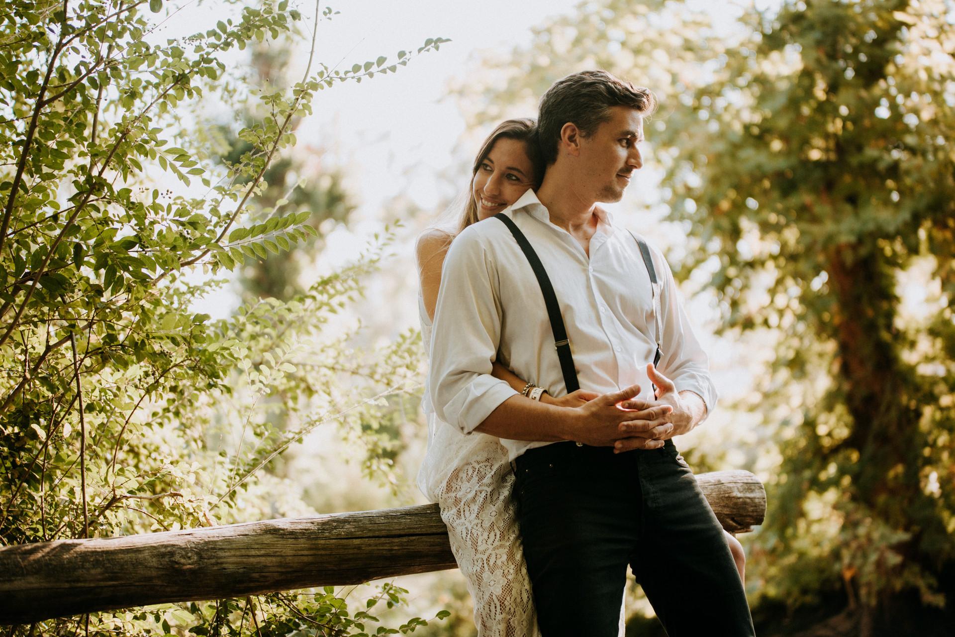 Pre boda romántica
