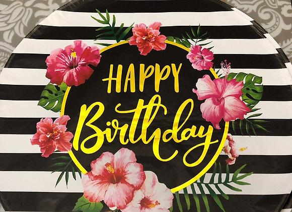 """Фольгированный шар""""Happy Birthday"""" 2.0"""