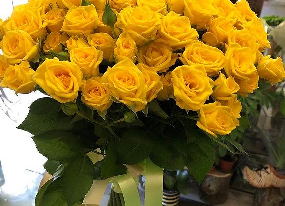"""Букет роз """"Солнечный"""""""