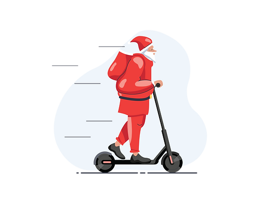 santa-riding-scooter-2561020.png