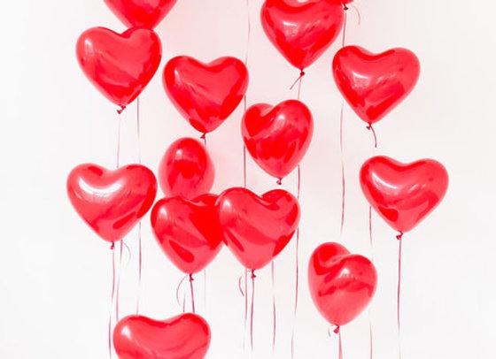 Сердце латекс(гелий)