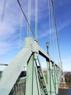 St. John's bridge, the tallest in Portland