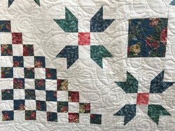 King Quilt - close up