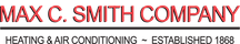 Max C Smith Heating and Cooling Services Logo