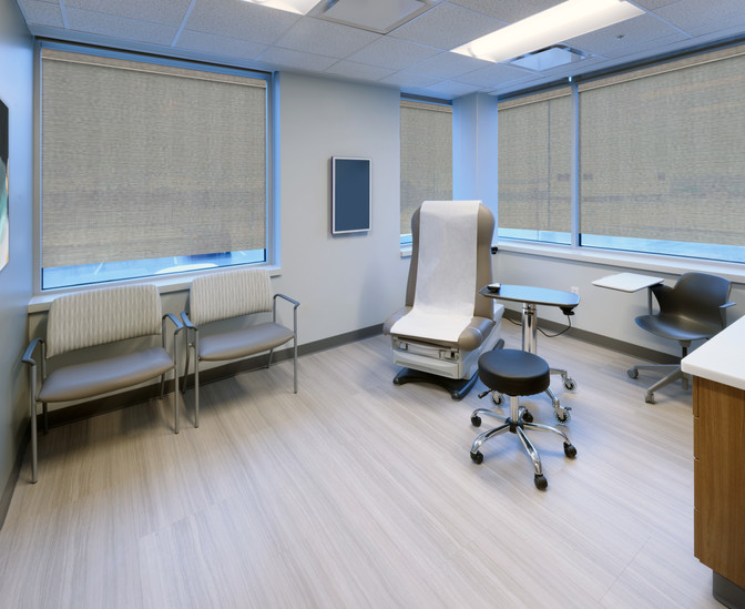Unique Exam Room Designs Improve the Patient Experience in a Multi-Specialty Building