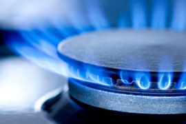 Gas flame picture