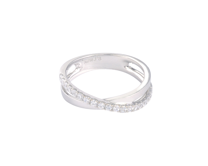 Diamond Accent Gold Infinity Band - Women