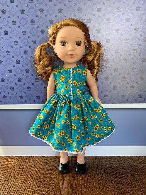 Sunflower Dress for Wellie Wisher