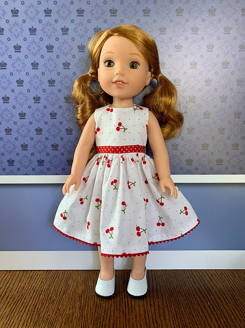 Cherry Dress for Wellies