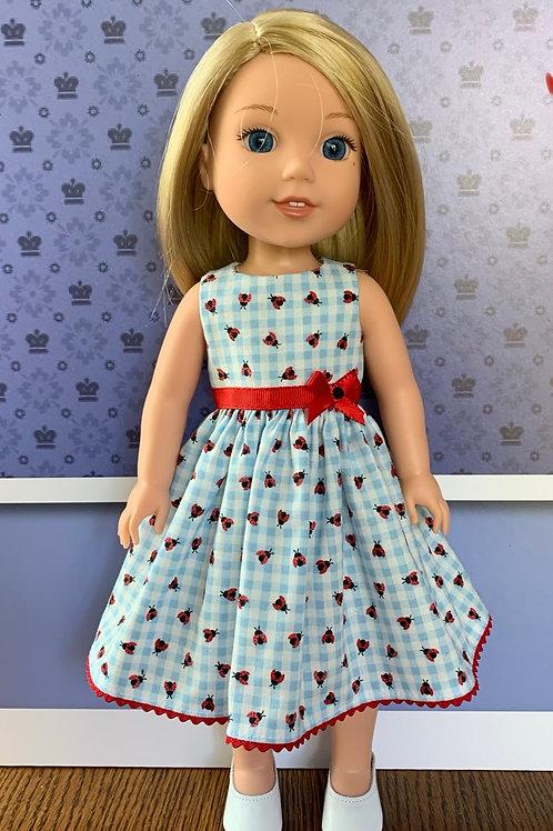 Lady Bug Dress for Wellie Wisher