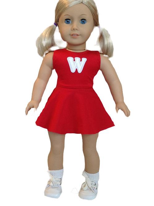 Wisconsin Badger cheerleader outfit