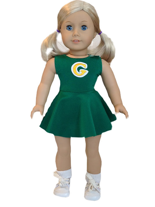 Green Bay Packer cheerleader outfit