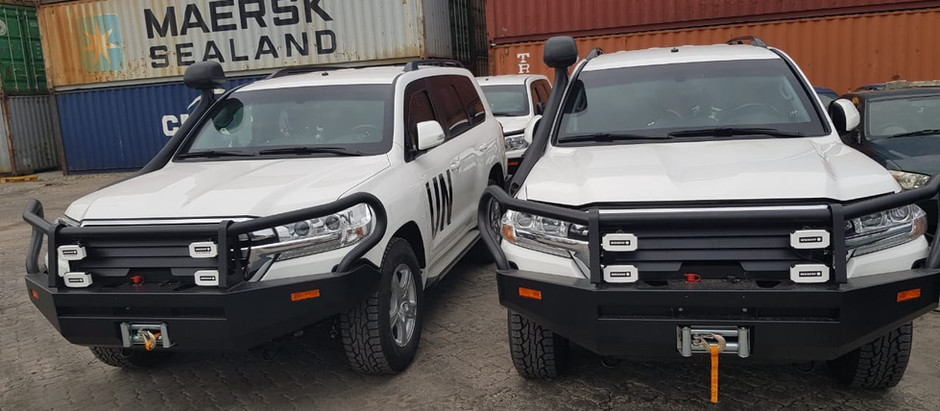 Monarch Group delivers Four Armored Vehicles for UNDP South Sudan