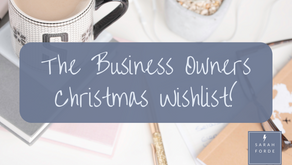 A Small Business Owners Christmas Wishlist