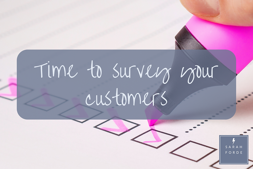 How to survey your customers
