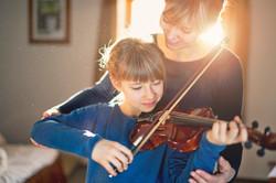 Mutter-und-Tochter-Violine-Lektion-49356