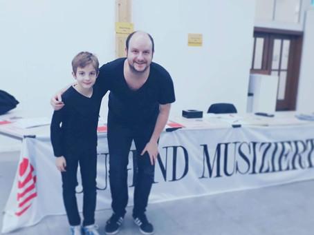 Willem Frings erfolgreich bei Jugend musiziert