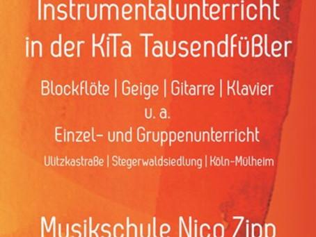 Instrumentalunterricht in Köln Mülheim