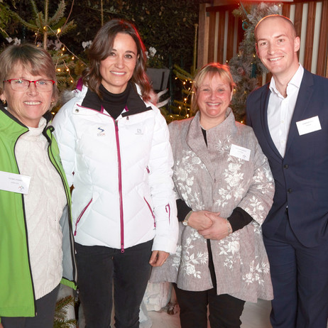 Pippa Middleton Launches #Ski2Paralympics Challenge