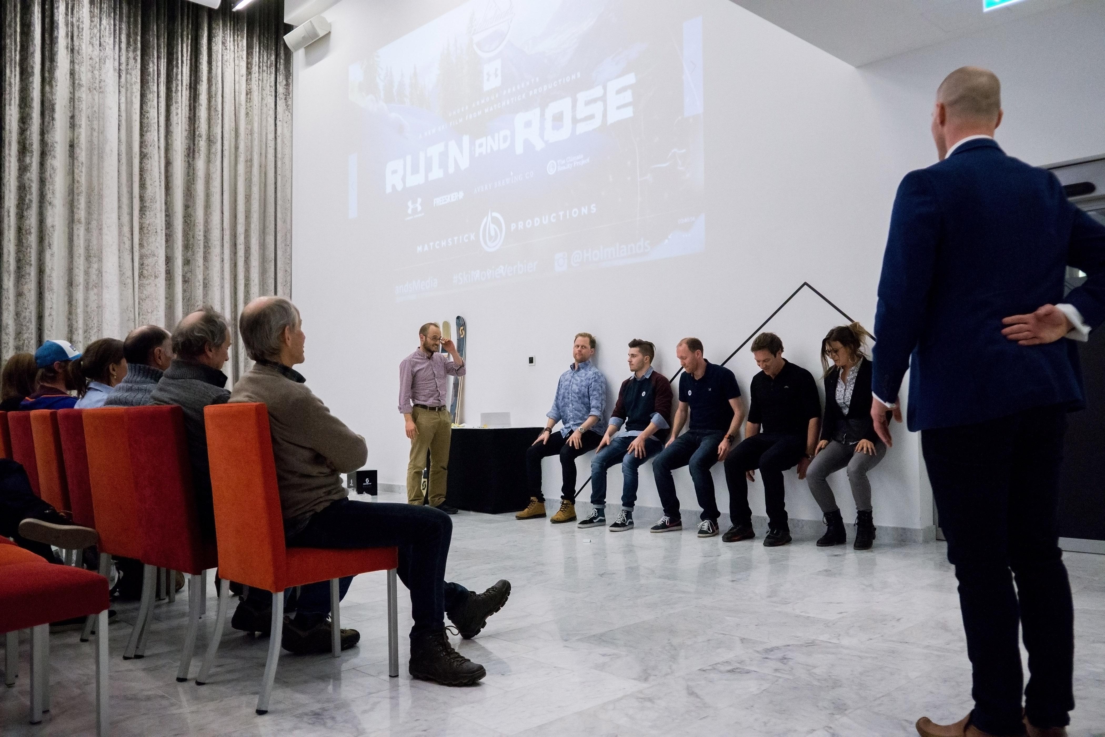 Ruin and Rose Verbier 2017