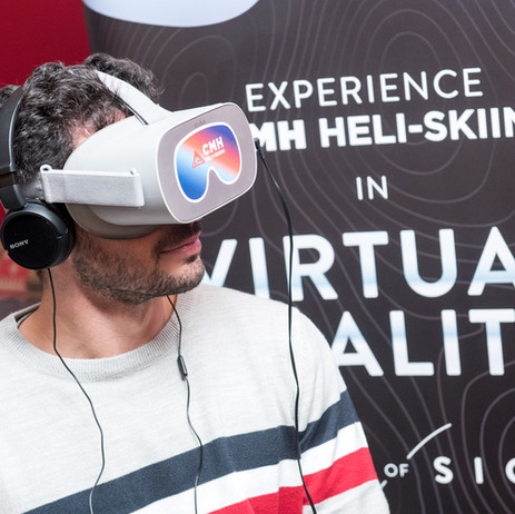Virtual reality heli-skiing comes to London