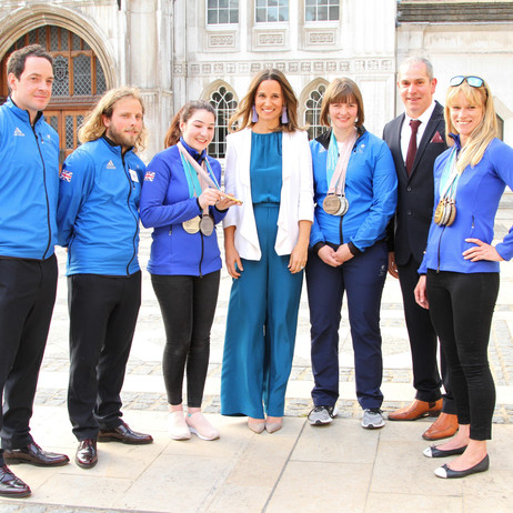 Pippa Middleton Celebrates Paralympic Success with Holmlands Heroes