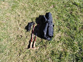 Zelt mit geringem Gewicht und kleinem Packmass