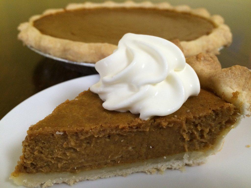 Famous Kringles Pumpkin Pie