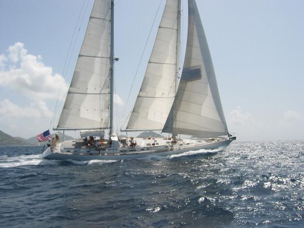 S/Y Eliza, Southern Ocean 80. Anguilla