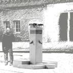Modell für einen Brunnenwettbewerb