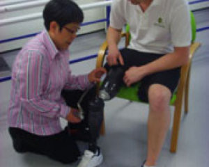 New Prosthetic Liners May Control Limb Pain for Amputees