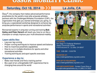 Ossur Announces this years Mobility Clinic