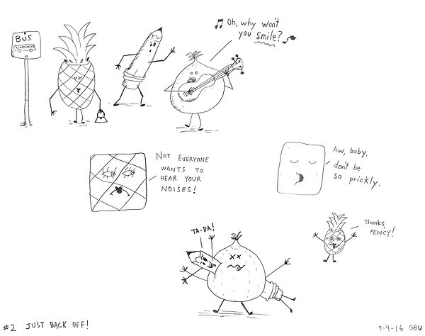 Pency th murderous pencil - Just Back Off!
