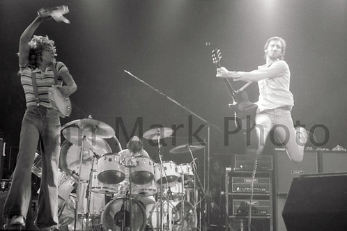The Who 8X12 Photo  1976