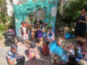 אירוע לילדים אריק הקוסם הפיראט