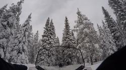 Snowfall in Breckinridge
