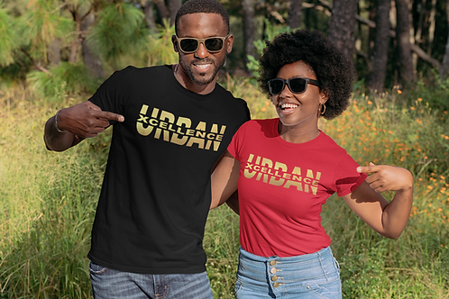 (Short Sleeve) Gold Foil Urban Xcellence Split