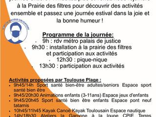 Rejoignez nous à Toulouse Plage !