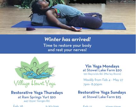 Restorative & Yin Yoga Practice