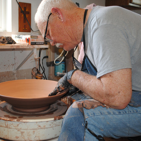 Jim & Gale Lichman -  Centering Self and Clay