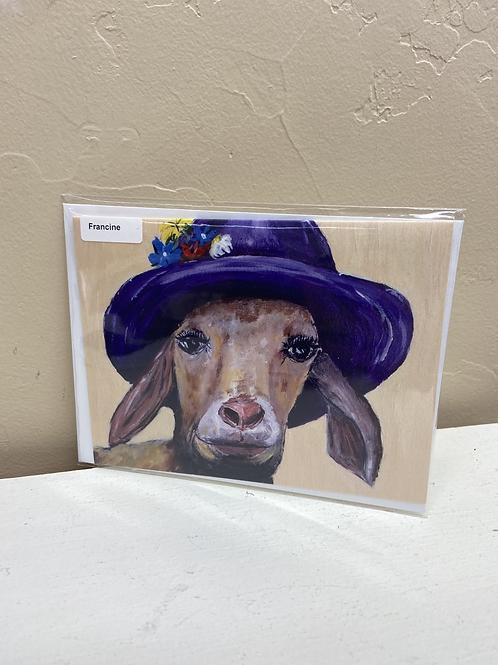 Francine - Card