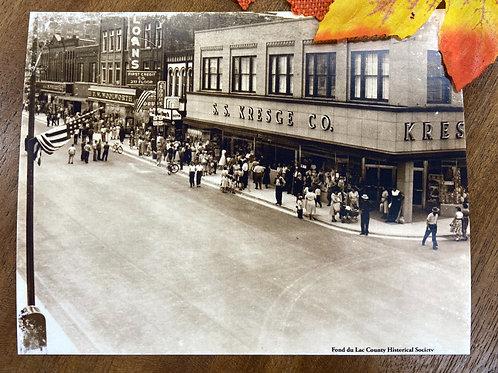 Kreskge Building Historic Fond du Lac Postcard