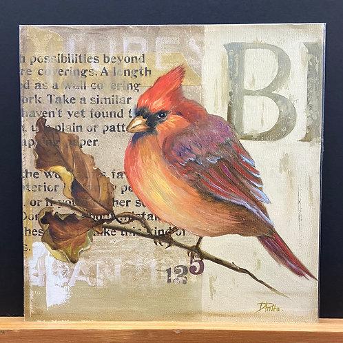 Red Love Birds I
