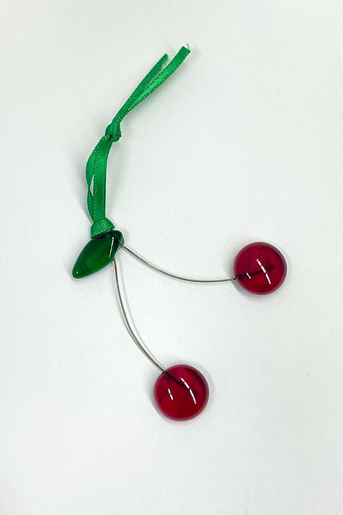 Cherries Ornament