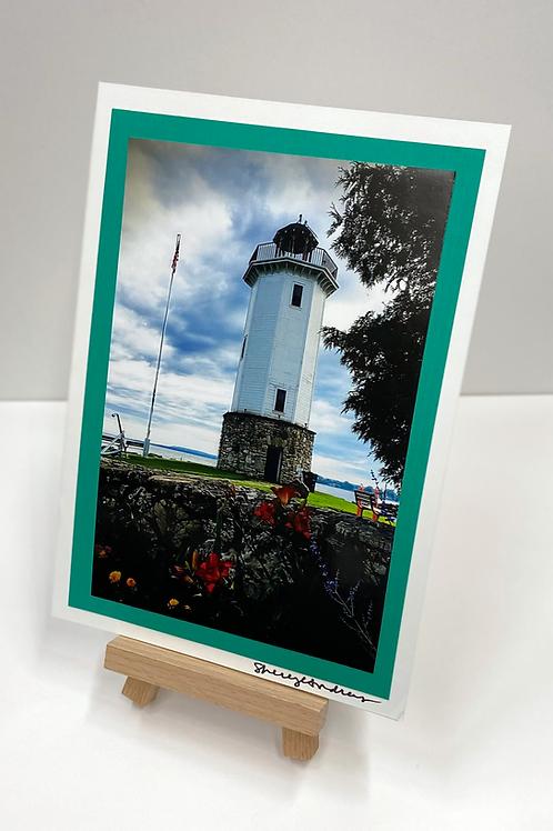 FDL Lighthouse Photo Card