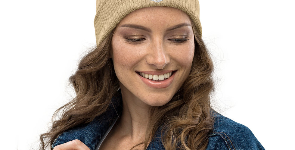 Earth Color- Organic ribbed beanie - Element Earth