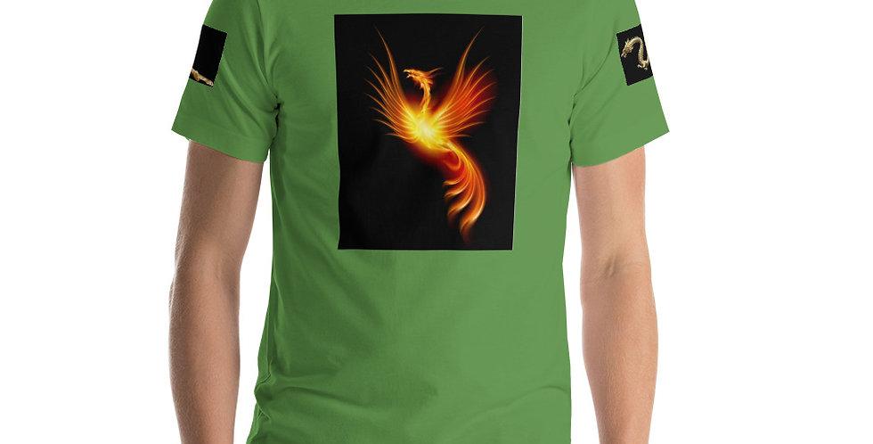 Feng Shui - Green Short-Sleeve Unisex T-Shirt - Wood Element